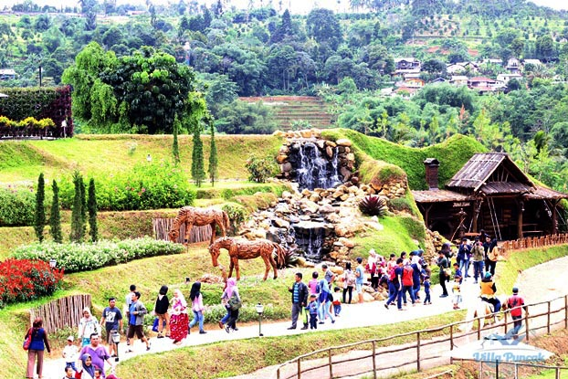 the ranch puncak