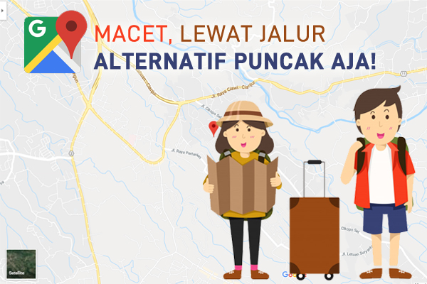 jalur alternatif puncak